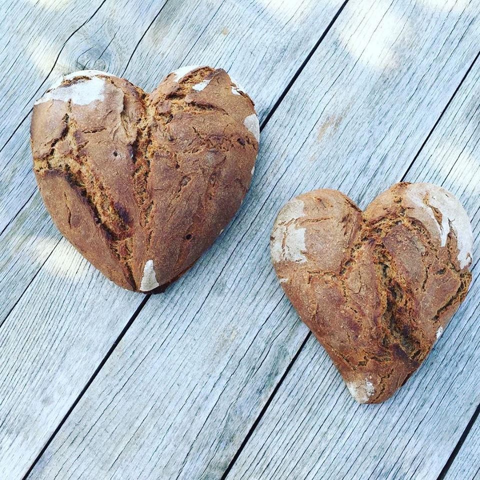 Brot Herz